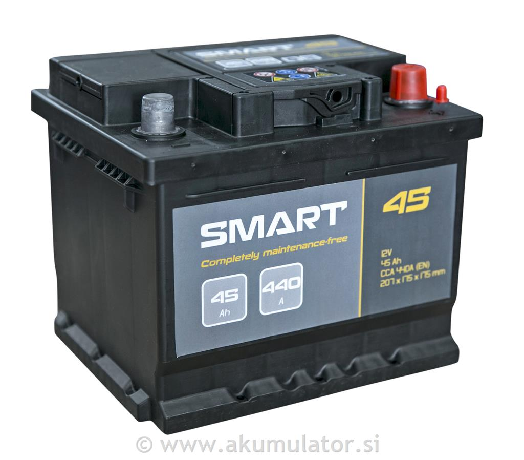 Akumulator Smart 45Ah 440A