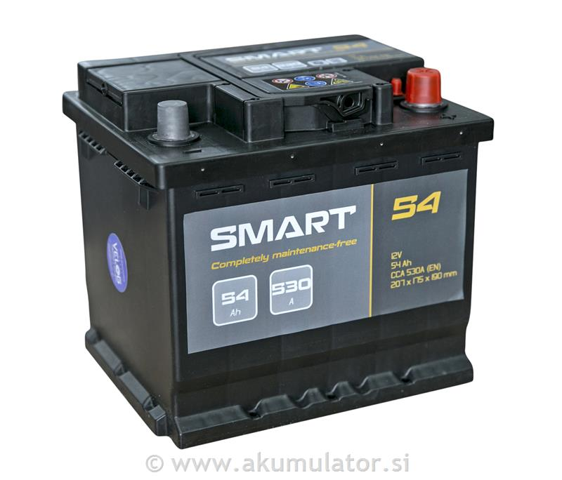 Akumulator Smart 54Ah 530A