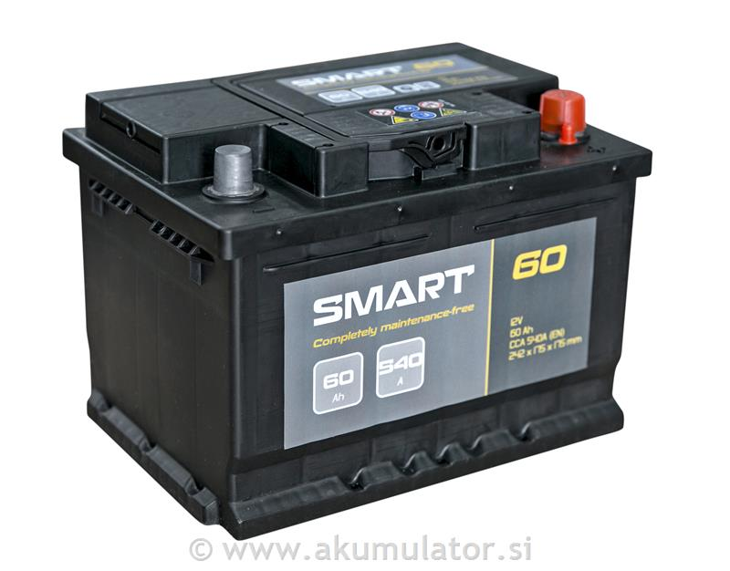Akumulator Smart 60Ah 540A