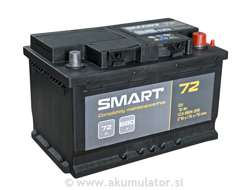Akumulator Smart 72Ah 680A
