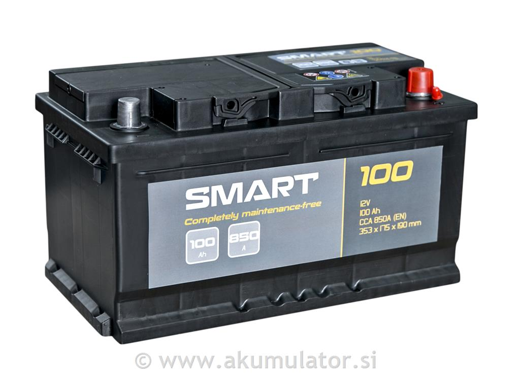 Akumulator Smart 100Ah 850A