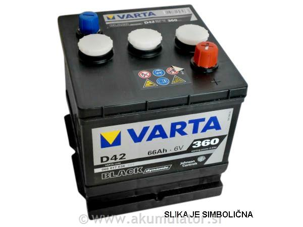 Akumulator 6V 77Ah VARTA Black Dynamic