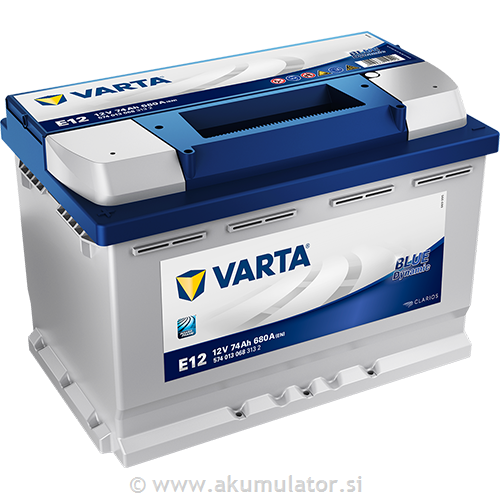 Akumulator VARTA Blue dynamic 74Ah L+