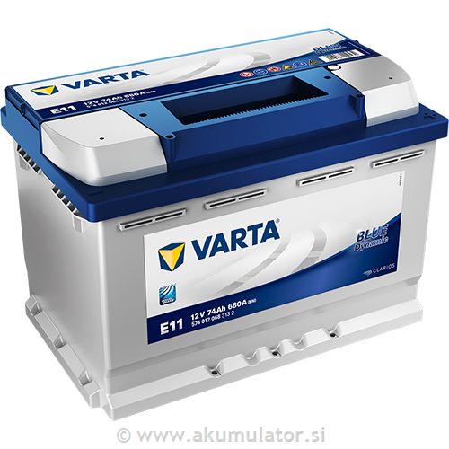 Akumulator VARTA Blue dynamic 74Ah
