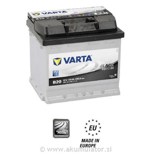 Akumulator VARTA Black dynamic 45Ah L+