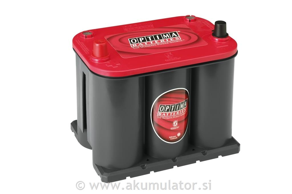 Akumulator Optima Red Top RTS 3,7