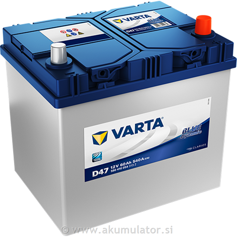 Akumulator VARTA Blue Dynamic 60Ah JD+