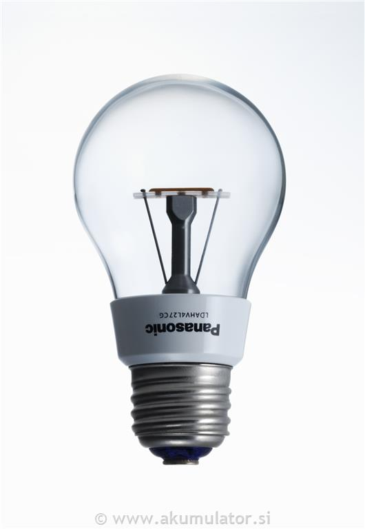 LED žarnica 4.4W E27 Panasonic