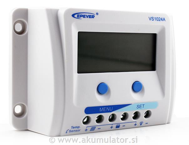 Solarni regulator 10A Epsolar z LCD