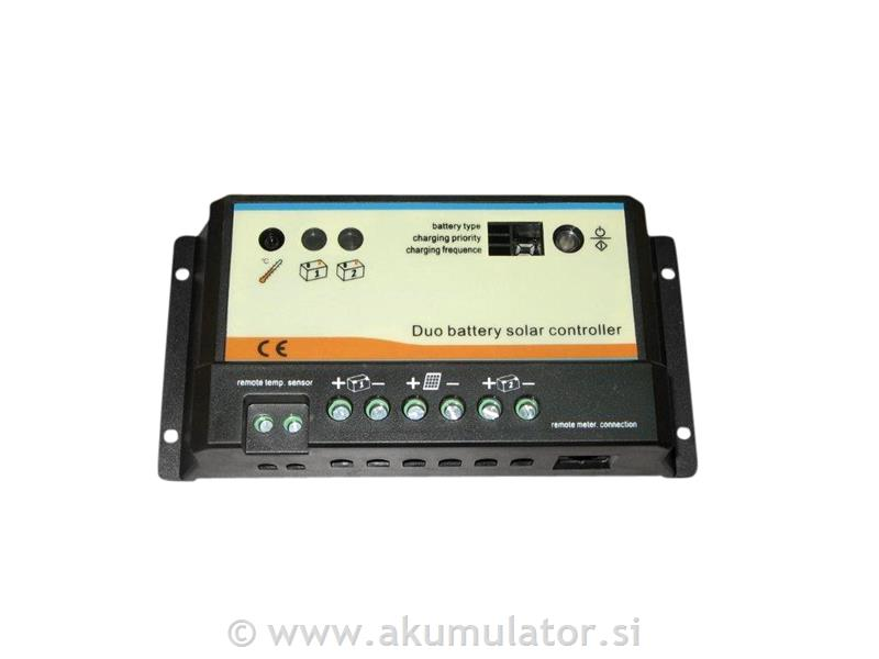 Solarni regulator duo 20A Epsolar, za plovila, avtodom