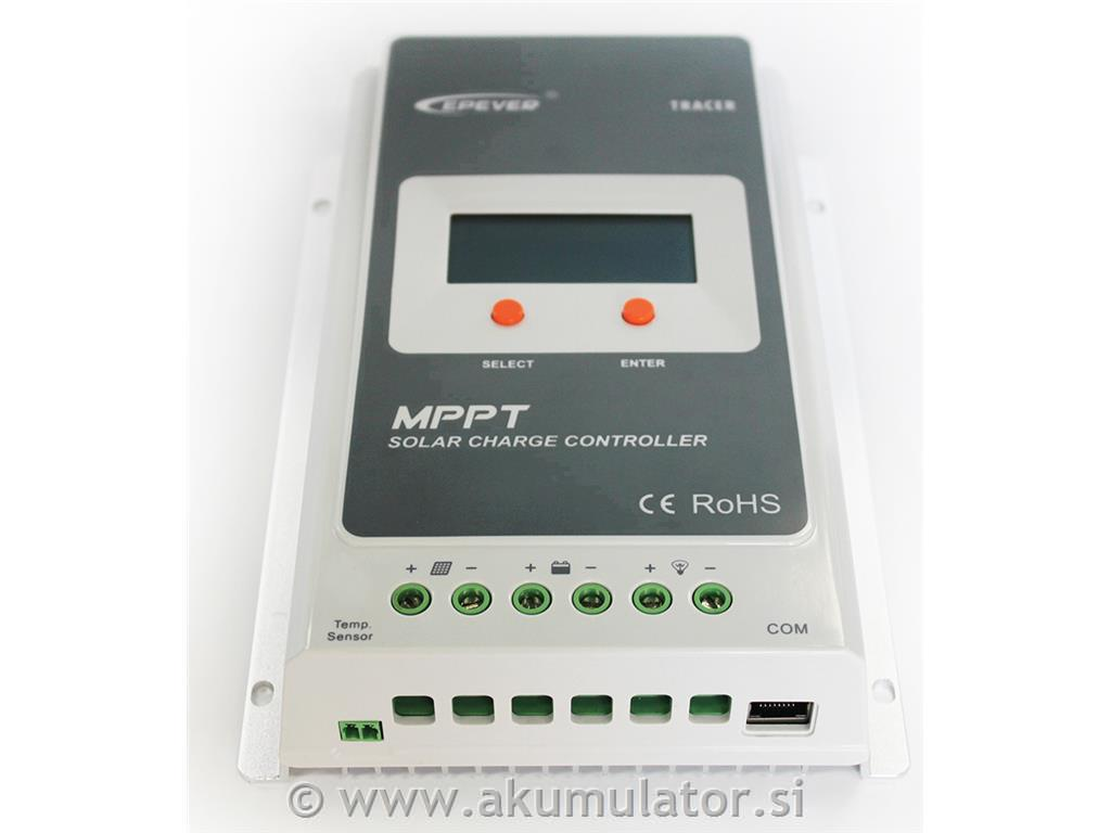 MPPT solarni regulator 40 A z LCD