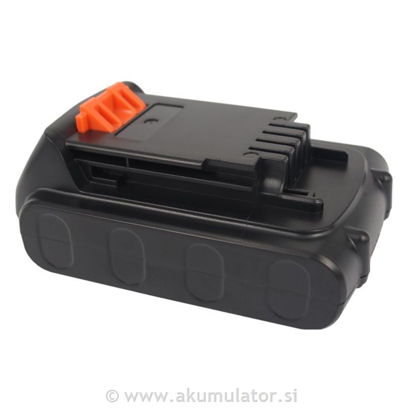 Baterija Black&Decker 20V 2000mAh Li-ion